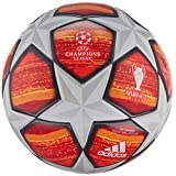 adidas Fiinale Top Training Soccer Ball White/Active Red/Scarlet/Solar Red Bottom: Bright Orange/Solar Gold/Black, 4