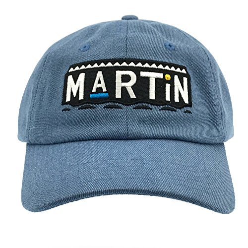 CUSTOM Martin Tv Show Hat Baseball Cap 90s Dad Hat (Denim)