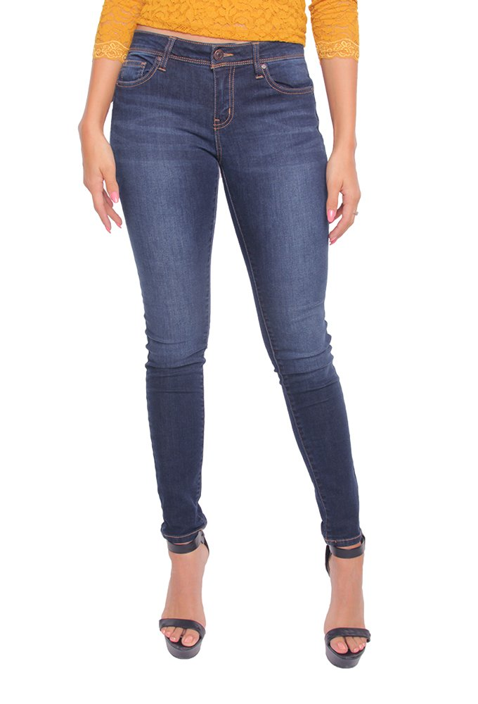 Wax Jeans – Butt I Love You – Push UP Jeans (Dark, 9)
