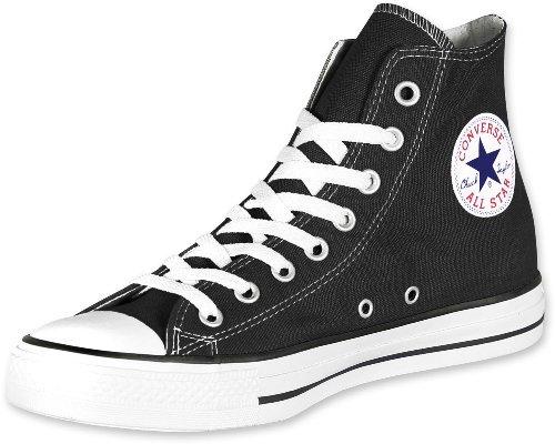 Converse Chuck Taylor All Star Hi Top Black Canvas W9160, Men's 9.5 womens 11.5