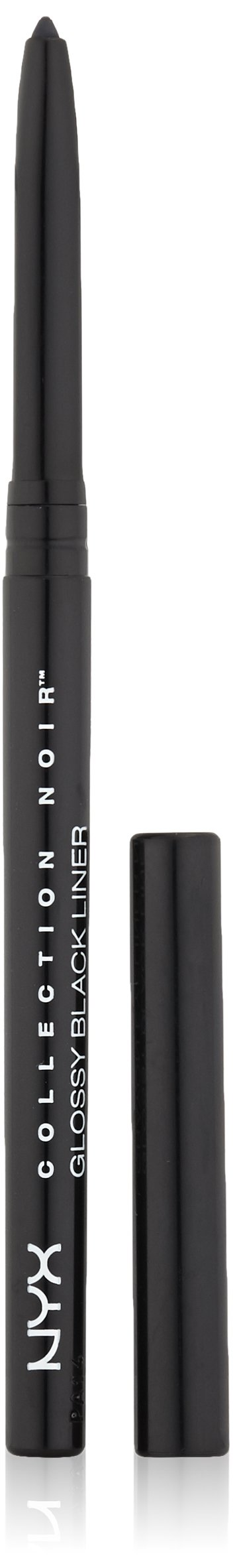 NYX Professional Makeup Collection Noir Glossy Liner, Black, 0.01 Ounce