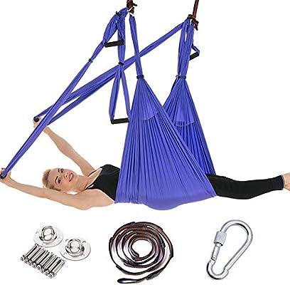 Juego de Columpios de Yoga aérea Hamaca de Yoga Kit de Yoga ...