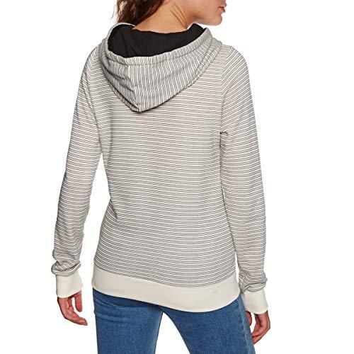 Frauen Im Herbst An Colorblock Kopftuch Hals Weite Pullover