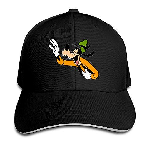 famouse-cartoon-laughing-goofy-baseball-cap-sports-sandwich-cap-hats