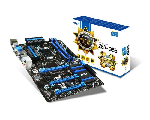 Photo - MSI Computer Corp. ATX DDR3 2000 LGA 1150 Motherboards Z87-G55