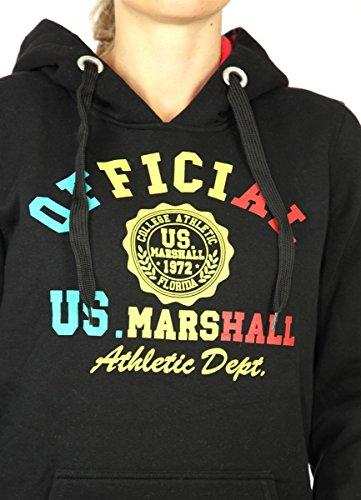 Per Con Us Nero Da Colore Uomo Vari Cappuccio Felpa Colori Pullover Marshall xEwqOcwFrY