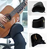 Andoer Guitar Cushion Leather Cover Built-in Sponge Soft Durable Portable