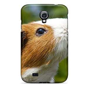 Tpu Case Cover For Galaxy S4 Strong Protect Case - Guinea Pig Design