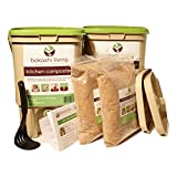Bokashi Composting Starter Kit (2 bins, 2 bags of bokashi and full instructions)