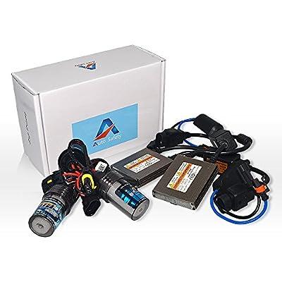 Auto safety Car HID Xenon Lights Bulbs Lamps H1 HID Conversion Kit Headlight Bulb 12V 35W(12V,35W) single beam- 1 Pair Yellow 5000K