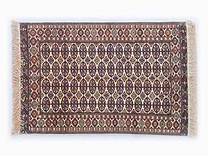 Pure Natural Silk Turkmen Elite Handmade Rug (1.13m X 1.68m)
