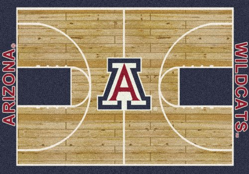 Arizona College Home Basketball Court Rug: 78