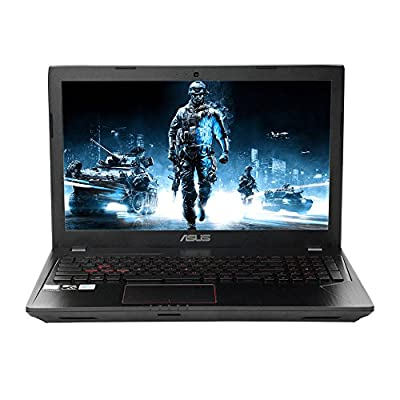 "2018 Newest ASUS 15.6"" Full HD Gaming Laptop, Intel Quad-Core i7-7700HQ 2.8GHz Processor, 8GB RAM, NVIDIA GeForce GTX 1050 Graphics, DVD-RW, 802.11AC, Bluetooth, HDMI, Backlit Keyboard"