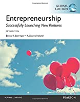 Entrepreneurship, Global Edition, 5th Edition Front Cover