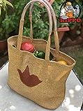 HIPPO Recycled Plastic Shopping Bag/Utility Bag - Earthy Brown - Long Life