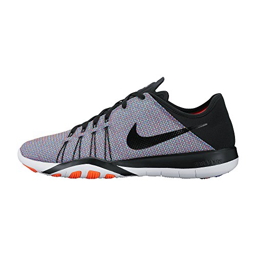 Nike Free TR 6 PRT Black/Black/Total Crimson/White Women's Cross Training Shoes (Cross Women Free Nike Training)