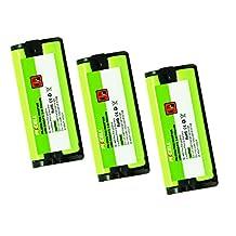 Cordless Phone Batteries hhr-p105 for Panasonic HHR-P105 HHR-P105A TYPE31 serials Count: (3Pcs)