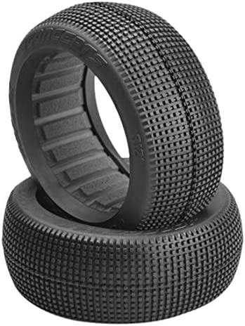 Jconcepts 3121-07 Reflex Black Compound 1/8 Buggy Wheel, 3121-07