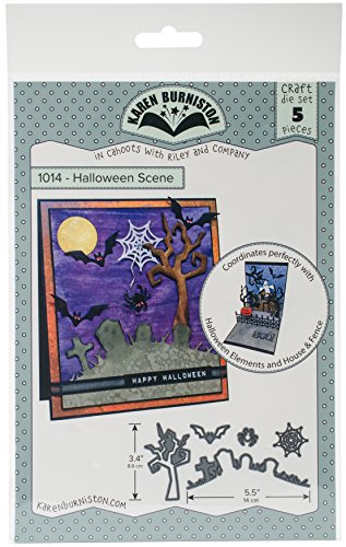 KB Riley 1014 Karen Burniston Dies-Halloween Scene ()