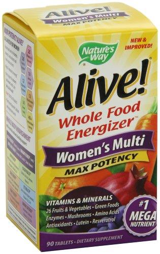 Nature Way Alive! Femmes Puissance maximale Multi 90 comprimés
