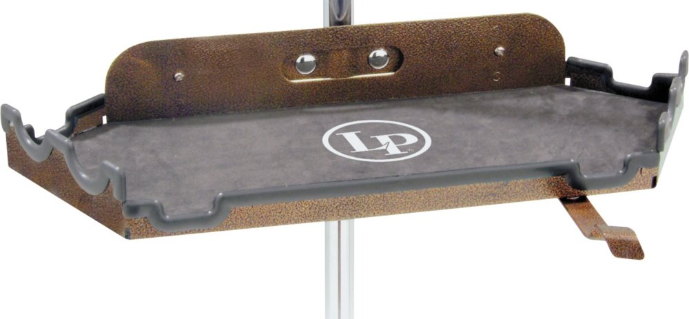 Latin Percussion LP761 Percussion Table Lined with Molded Rubber/Grooves KMC Music Inc
