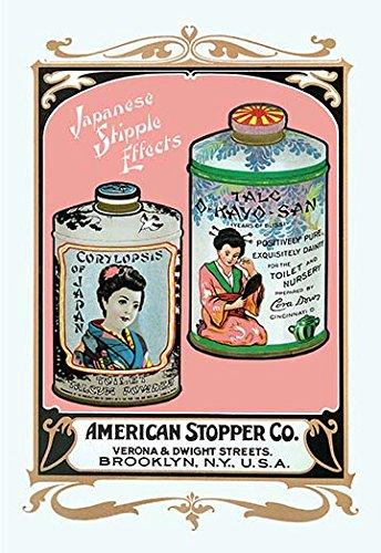 - Corylopsis of Japan Talcum Powder and Talc O-Kayo-San 20x30 poster
