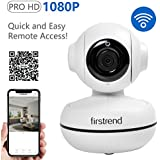 Firstrend 1080P HD WiFi IP Security Camera Wireless Security Camera System with Two Way Audio Motion Detection and Night Vision