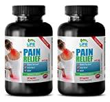 Product review for joint pain supplement powder - PREMIUM PAIN RELIEF - 610MG - holy basil herb seeds - 2 Bottle (120 Capsules)