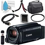 Canon 32GB VIXIA HF R82 HFR82 Camcorder 1958C002 + Compact Camcorder Case + Memory Card Wallet + Card Reader + Mini HDMI Cable + Tripod Bundle