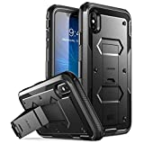 iPhone Xs Max Case, [Armorbox] i-Blason [Built in Screen Protector][Full Body] [Heavy Duty Protection] [Kickstand] Shock Reduction Case for iPhone Xs Max 6.5 Inch (2018 Release)