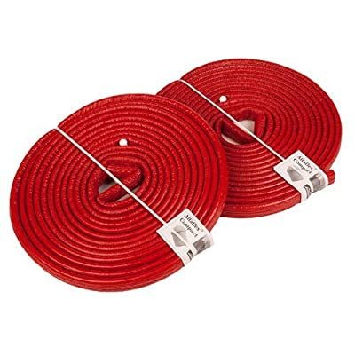 10 Meters of 22mm Extra Strong Pipe Foam Insulation Lagging Wrap 6mm Thick