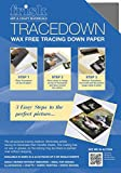 Frisk Tracedown A4, Pack Of 5, Graphite