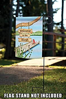 Toland Home Garden Welcome To The Rivah 28 X 40 Inch Decorative Funny Summer River Adirondack Vacation House Flag Buy Online At Best Price In Uae Amazon Ae