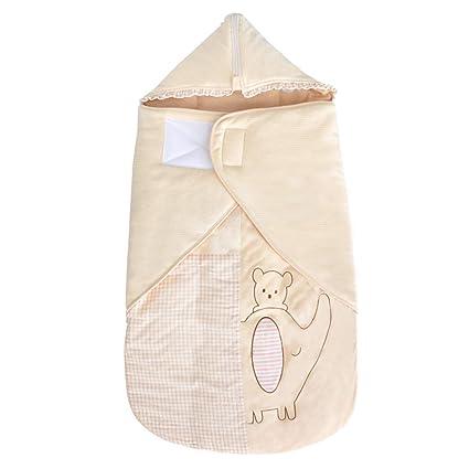 Saco de Dormir para bebé, Chaqueta Gruesa de algodón en otoño e Invierno, Protege
