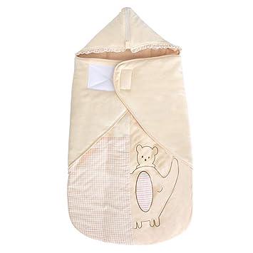 Saco de Dormir para bebé, Chaqueta Gruesa de algodón en otoño e Invierno, Protege el Vientre y Evita la Colcha a Prueba de Golpes 0-12 Meses: Amazon.es: ...