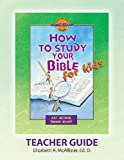 img - for Discover 4 Yourself(r) Teacher Guide: How to Study Your Bible for Kids book / textbook / text book