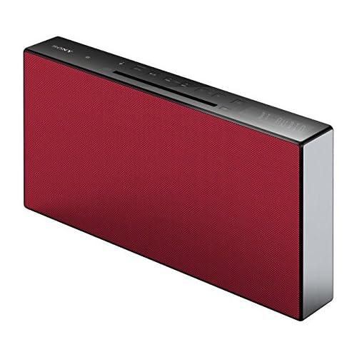 chollos oferta descuentos barato Sony CMT X3CD Sistema HiFi compacto de 20W con Bluetooth y NFC color rojo
