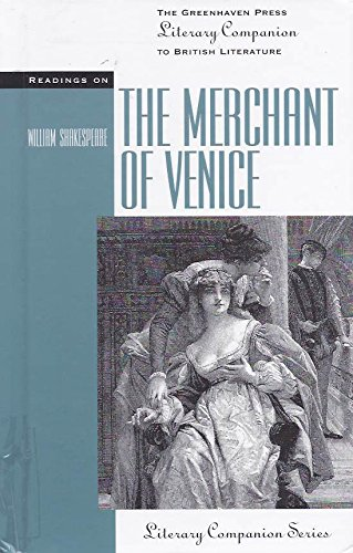 Read Online Readings on the Merchant of Venice (The Greenhaven Press Literary Companion to British Literature) pdf