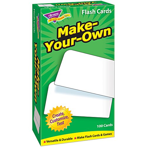 UPC 786285301000, Make-Your-Own Skill Drill Flash Card Game (100 Pack)