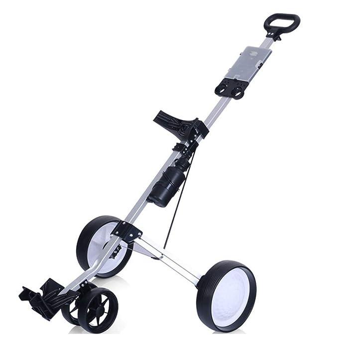 Amazon.com: Carrito de golf con empuje para tirar de pie ...
