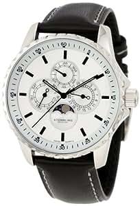 Stuhrling Original Men's 214L.33152 Classic 'Artemis' Moon Phase Swiss Quartz Watch