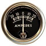 DJS Tractor Parts / Ammeter Gauge (20-0-20) - AB-016D