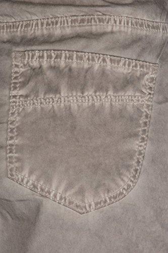 heine Pantaloni da donna Röhrenhose 5 Pocket Grey
