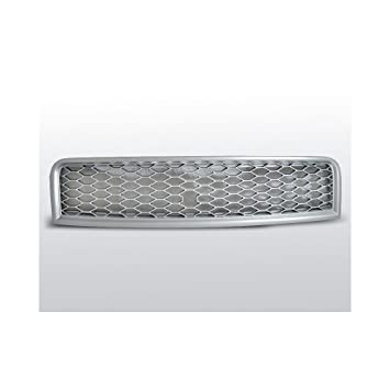 Calandre Grill Audi A4 (B6) rs-type 10.00 - 10.04 mate plata: Amazon.es: Coche y moto