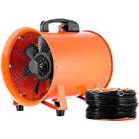 SHZOND 12 Inch Utility Blower 2295 CFM Portable Ventilator High Velocity Utility Blower with 5M Duct Hose
