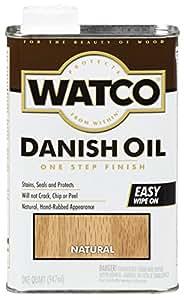 Watco Danish Oil Finish - Oil Based Household Varnishes ...