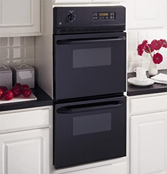 Amazoncom JRP28BJBB 24quot BuiltIn Double Electric Wall Oven