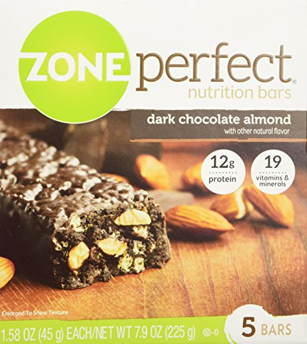 zone dark chocolate almond - 3