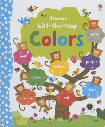 Usborne Lift-The-Flap Colors: Felicity Brooks: 9780794534899: Amazon ...