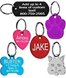 Providence Engraving Pet ID Tags in 8 Shapes, 8